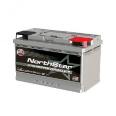 PURE LEAD BATTERY NORTHSTAR 12V 76AH/C20 840CCA (-18°C)