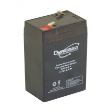 AGM BATTERY 6V 4.0AH/C20 3.40AH/C5 T1