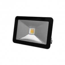 LED FLOOD LIGHT 50W ZWART, WARMWIT
