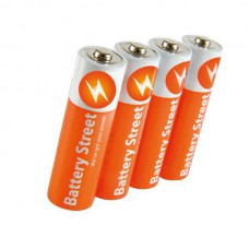 BATTERY STREET LR03-GR SP-4A AAA (4PCS)